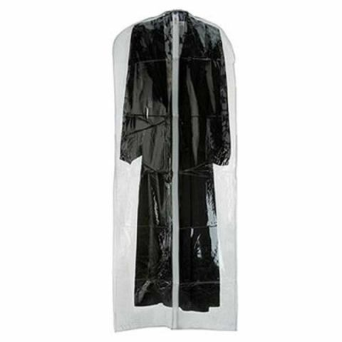 Simplestore Long Thick Clear Moth Proof Plastic Dress & Coat Cover